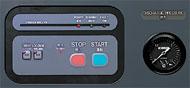 遠隔運転用の端子台と機側/遠隔切替スイッチ