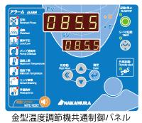 シリーズ共通コントロールパネルで視認性・操作性アップ。