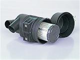 吸込フィルタの大型・低圧損化
