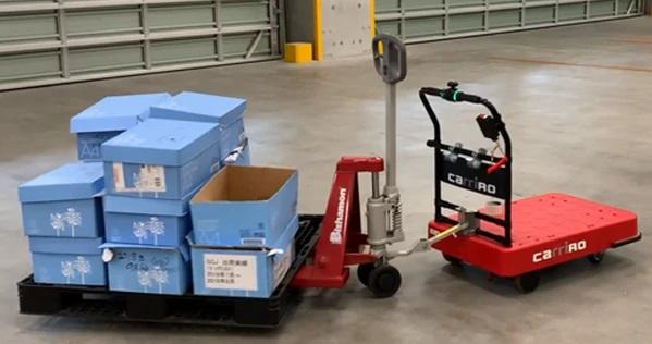 CarriRoAD+ キャリロ 物流支援ロボット 重量モデル
