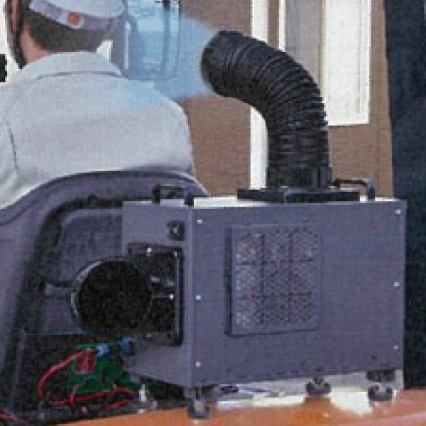 フォークリフト用 スポットクーラー 後付け 小型DCクーラー