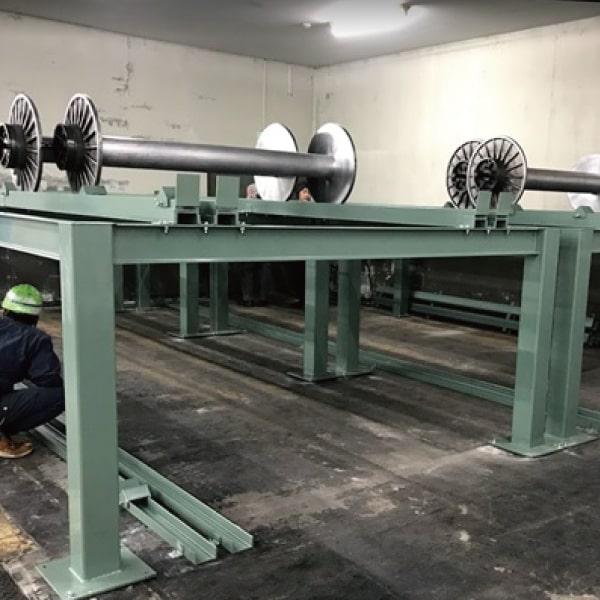 ビームラック 繊維 繊維業 カスタマイズ 設計製作 困りごと 三栄商会